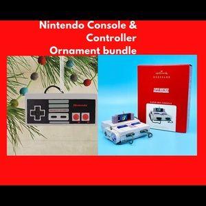 Nintendo Ornament Bundle 🌟Lights up🌟